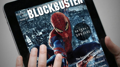 Blockbuster is in the Magazine Business