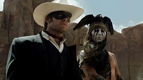New 'Lone Ranger' Trailer