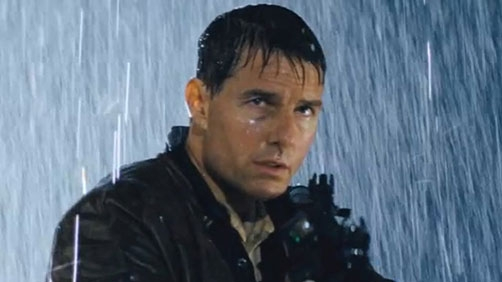 Gun Cut from 'Jack Reacher' Promo Material