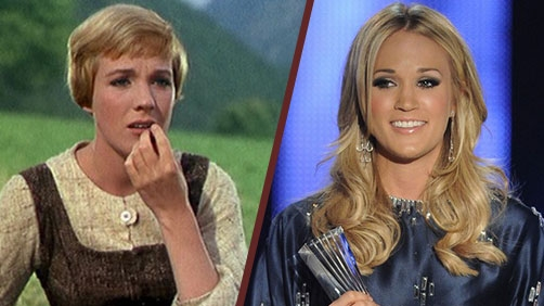 Carrie Underwood as Maria in 'Sound of Music'