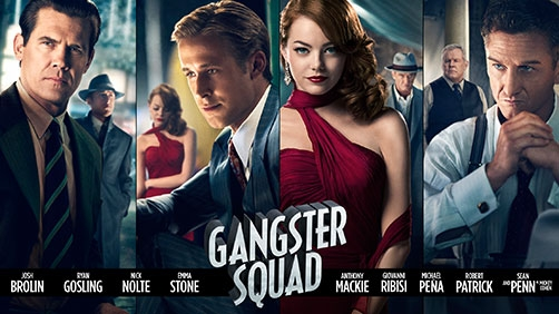Six Clips from 'Gangster Squad'
