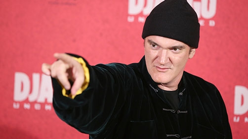 Tarantino Blows Up in Interview