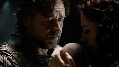 Russell Crowe Talks 'Broken City' and 'Man of Steel'
