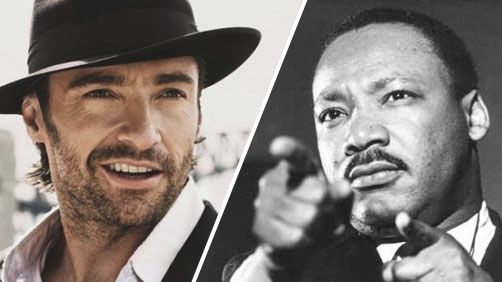 Hugh Jackman to Tackle Martin Luther King Slaying